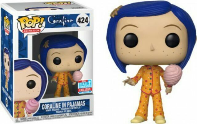 Funko Pop Coraline In Pajamas Figure 424 2018 Nycc Fall Convention For Sale Online Ebay