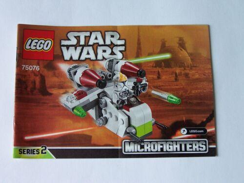Instruction Nr LEGO® Bauanleitung 75076