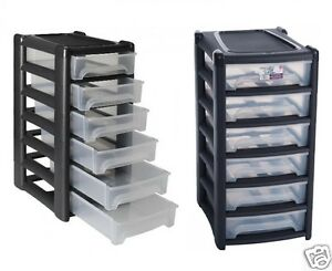 Image Is Loading Shallow 6 Drawers A4 Drawer Paper Storage Unit