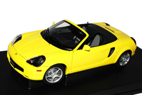Toyota MR2 Gelb Cabrio W3 1999-2007 78712 1//18 AutoArt Modell Auto mit oder ohne