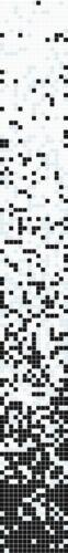 Glasmosaik weiß schwarzFarbverlauf PremiumArt:300-0301Mosaik-Netzwerk |