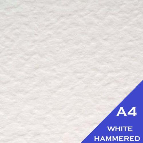 100 x Hojas A4 blanco con textura Martillado tarjeta 280GM-Dalton Manor Brand 11