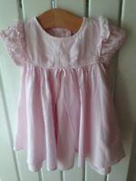 Baby Girl's Clothes 0-3 Months - Jasper Conran Pink Cotton Summer Dress