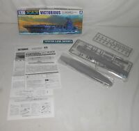 Aoshima Water Line 1/700 Model Royal Navy Aircraft Carrier Victorious No 701