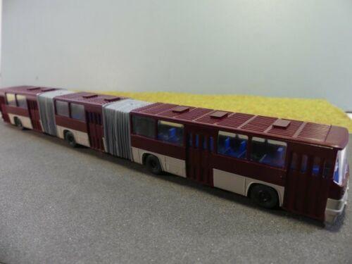 1//87 SES ICARE 293 double-Bus articulé bordeaux//beigegrau 14130701b