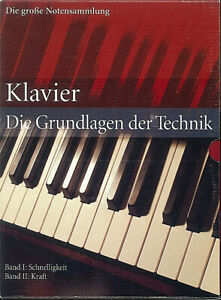 Die große Notensammlung - Die Grundlagen der Technik Band 1 und 2
