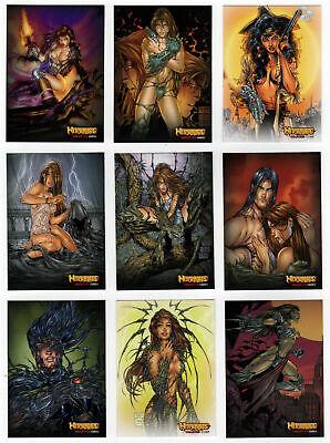 Witchblade 2014 Complete 72 Card Base Set