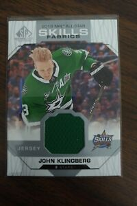 2018-19-SP-Game-Used-John-Klingberg-All-Star-Skills-Fabrics-Dallas-Stars-Patch