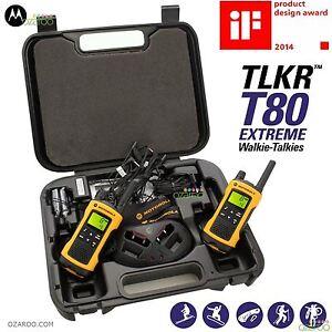 Motorola Km TLKR T Extrême Jumeau Talkie Walkie Longue Portée EBay - Talkie walkie longue portée