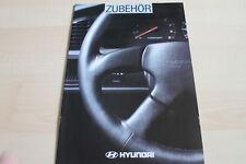 124423) Hyundai Lantra Pony Sonata - Zubehör - Prospekt 03/1994