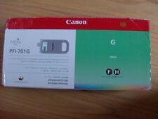Genuine Canon 700ml Green Ink Tank PFI-701G IPF8000/IPF9000 FACTORY SEALED