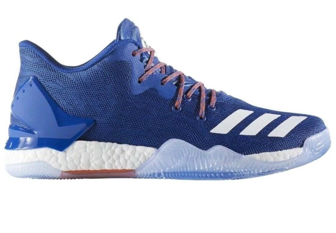 [BY4499] New Men's ADIDAS Derrick pink 7 Low Basketball Basketball Basketball Sneaker - bluee Size 6.5 72c11c