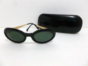 40501070eda35 Óculos de sol autêntico Valentino (Preto Dourado) Com Hq Clássico ...