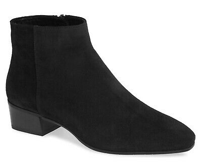 Weatherproof Suede Ankle Boots Black
