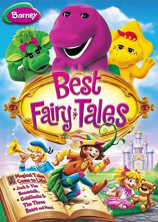 Barney Best Fairy Tales - DVD - GOOD - $4.47