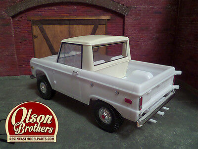 Olson Brothers Resin Half Cab Conversion Kit for new Revell 1/25 Ford  Bronco | eBay