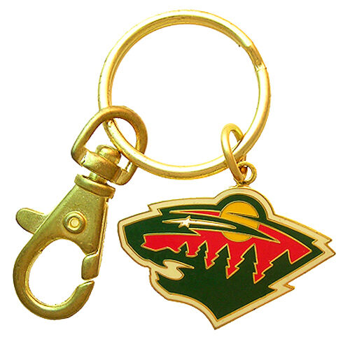 Minnesota Wild NHL Logo Metal Key Chain