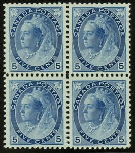 79-5c-Numeral-NH-Mint-Block-of-4-2019-PFC