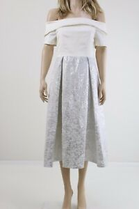 Vesper-White-Jacquard-Off-Shoulder-Prom-Dress-In-Metallic-Jacquard-UK-SIZE-14