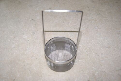 ULTRASONIC CLEANING BASKET WITH HANDLE NEW CLOCK PARTS