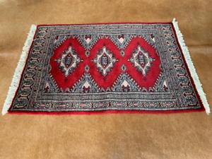 Rugs 2x3 Ft Antique Sheep Wool Carpet
