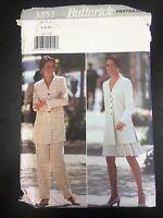 Butterick 3851 Misses'/petite Tunic, Skirt, & Pants - Sizes 6-8-10
