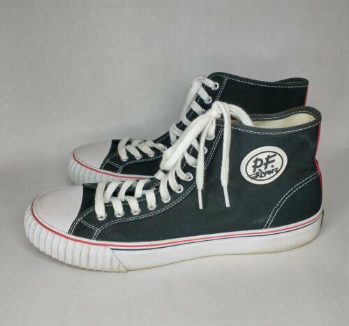 PF Flyers Rigid Wedge Canvas Shoes Black & White U