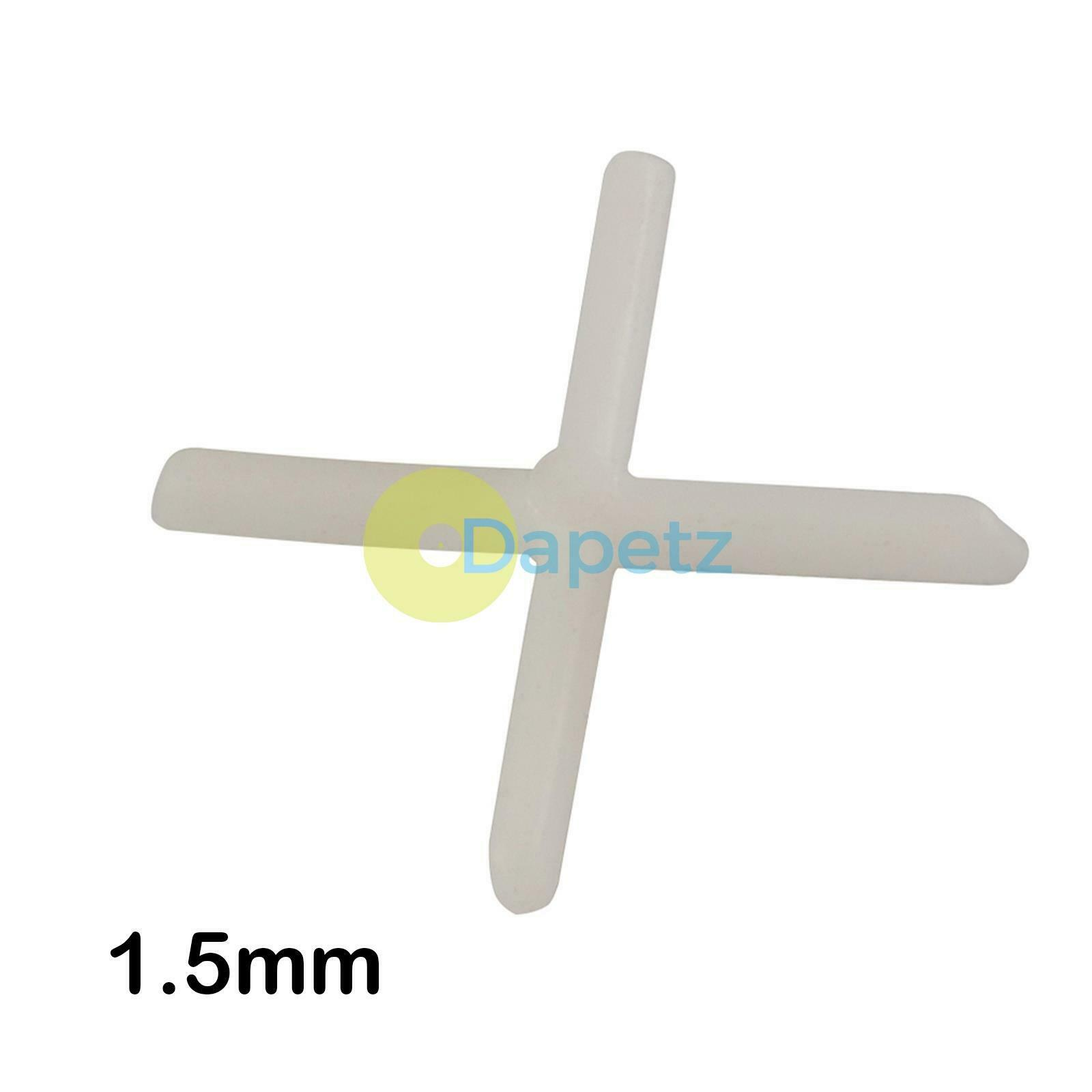 100-2000 PCs Grout Crosses 5 mm//20 mm for Patios Plates Floor Plates