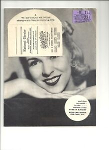 My-Sister-Eileen-Playbook-National-Theatre-Washington-D-C-August-22-1942