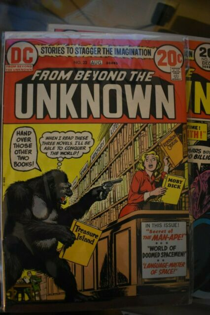 From Beyond The Unknown 23 Jul Aug 1973 Dc For Sale Online Ebay