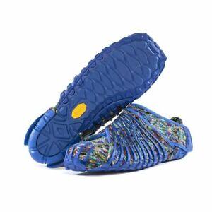 Vibram Furoshiki Shoes Blue Flower 16UAC08 Size Medium