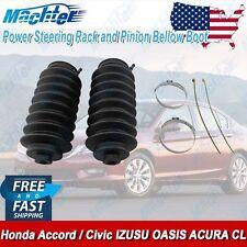 2 Power Steering Rack and Pinion Bellow Boots Honda Accord Civic ISUZU ACURA
