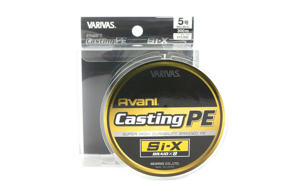 Varivas P.E Linea Si-X Avani Casting PE 300m P.E 5 (1185)