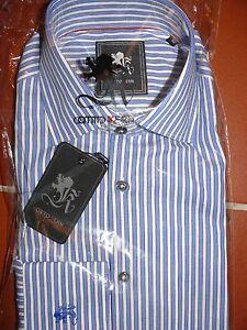 OTTO-KERN-Klassisches-Herrenhemd-Langarm-Hemd-Streifen-blau-weiss-NEU