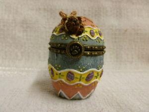 Boyds Bear Watson's Fabearlous Egg W/ Peep McNibble Treasure Box 81501 NIB