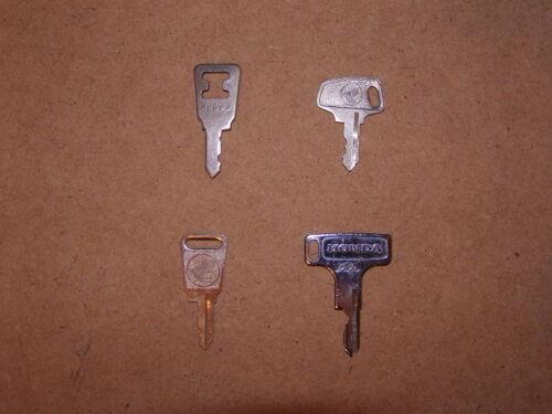 Vintage Honda OEM Factory Motorcycle Pre Cut H Series Key # H8098 H 8098