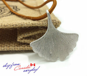 S925-Sterling-Silver-Ginkgo-leaf-Necklace-Very-Eye-Catching
