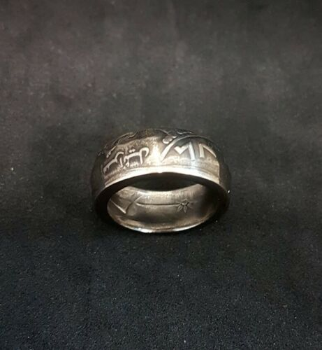 Sizes 6-11 *Limited Time Offer* Special Coin Ring Handmade Bible Jewish Israeli