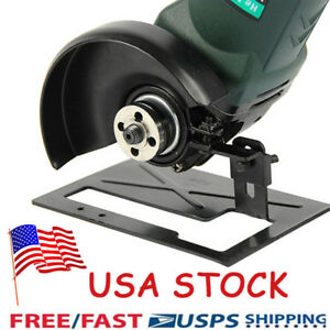 Adjustable-Metal-Angle-Grinder-Bracket-Stand-Holder-Support-Base-with-Cover-US