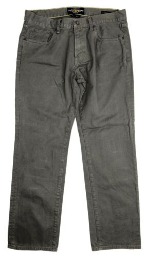 Lucky Jeans Zipper Hommes Gris Straight 34x32 Fly Original 221 Brand rTwx8r