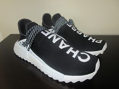 huge selection of 069fc 84cdf Adidas Human Race NMD Pharrell X Coco Chanel SZ 11 HU Black White PW CC  D97921 | eBay