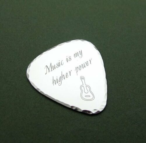 Anniversary Jewelry Gifts for Him Gift For Musician Details about  /Guitar Pick Necklace