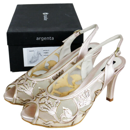Shoes 7 Heels £150 Brand Wedding Uk High 5 Sandals Party Ladies Top Womens Rrp vwYOO
