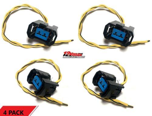 4 OBD2 Fuel Injector Honda Acura Connector Plug Harness B16 K24 B18 B18C5 D16Y8