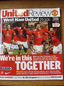 29032006 Manchester United v West Ham United  Slight Fold - Birmingham, United Kingdom - 29032006 Manchester United v West Ham United  Slight Fold - Birmingham, United Kingdom