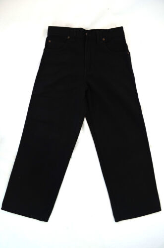Boy Wide Leg Black jeans Eagle blue jeans 100/% Cotton Solid Everyday size 8-16