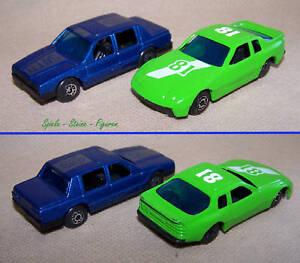 2-Metall-Modell-Autos-Sport-Coupe-Limosine