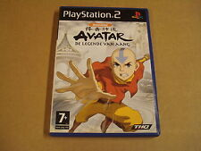 PLAYSTATION 2 GAME / AVATAR DE LEGENDE VAN AANG