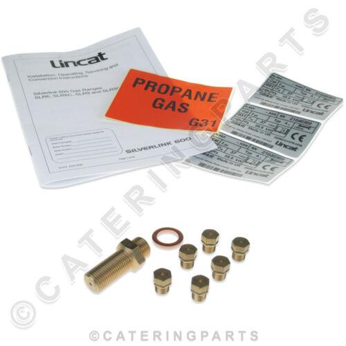 Lincat ckp65 LPG Gas Propano Kit di conversione slr9 Piano Cottura Forno /& GAMMA COMPLETA DI KIT