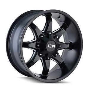 ion  black wheels rims  lug chevy gmc dodge ford ram   ebay